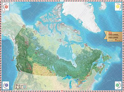 giant floor maps canadian geographic education