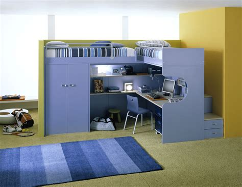 cool and ergonomic bedroom ideas for two children by bunk beds come intwin bed over study desk interior