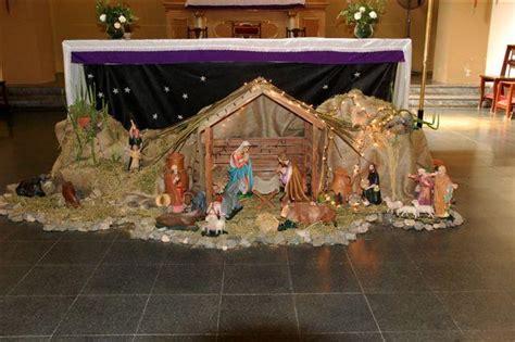 como hacer un pesebres imgenes pesebre parroquia de leones navidad 2009 parroquia