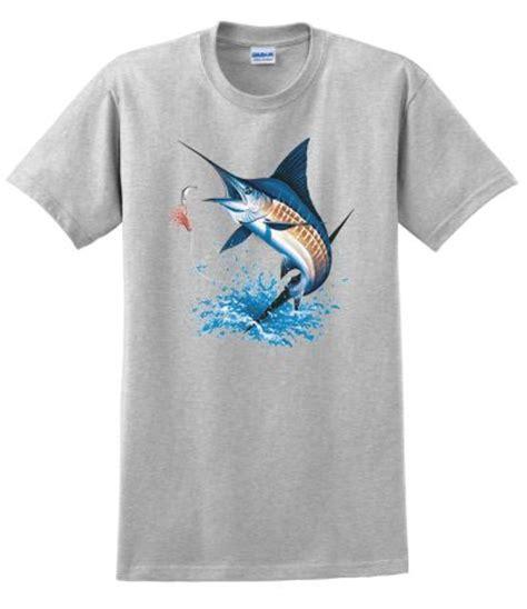 blue marlin t shirt