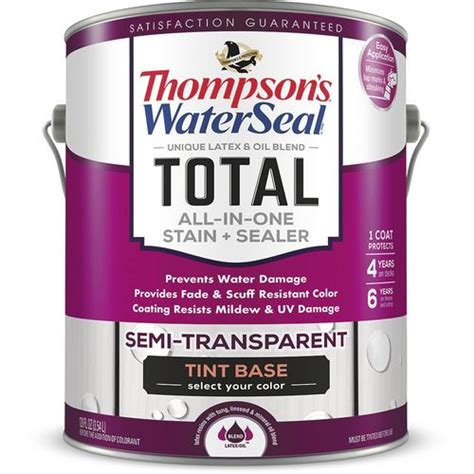 thompsons waterseal total    stain  gal