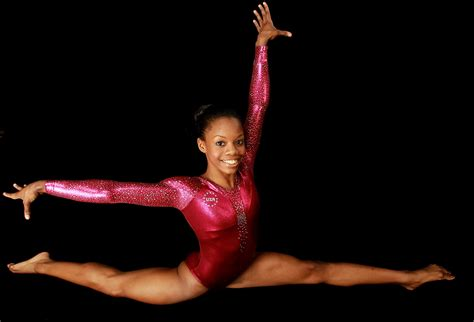 proud supports gabby douglas at u s olympic trials