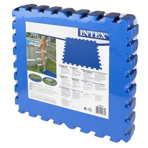 Pool Untergrund Platten by Intex 29081 Bodenschutz F 252 R Pools 8 Platten 1 9 M2
