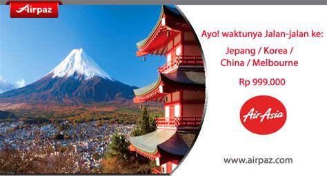 airasia ke jepang promo airasia ke jepang dan korea hingga 30 august 2015