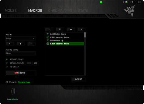Mouse Macro Razer Mamba razer mamba wireless gaming mouse review ign