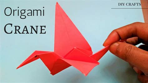 Tutorial Origami Crane - origami crane tutorial easy simple step by step how