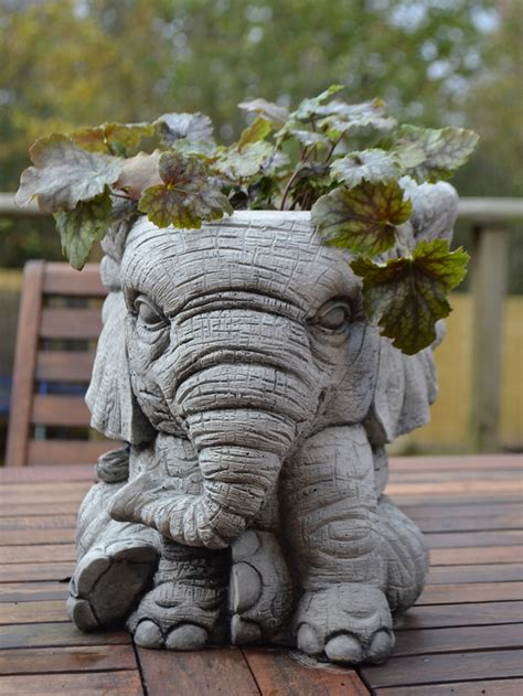 elephant wall planter elephant pot planter onefold uk