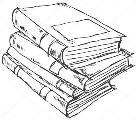 doodle drawing book stack of books doodle stock vector 169 yayayoyo 27671153