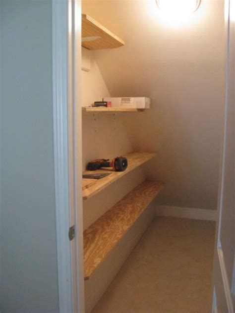 the stairs closet organization updated with pics stairs closet organization