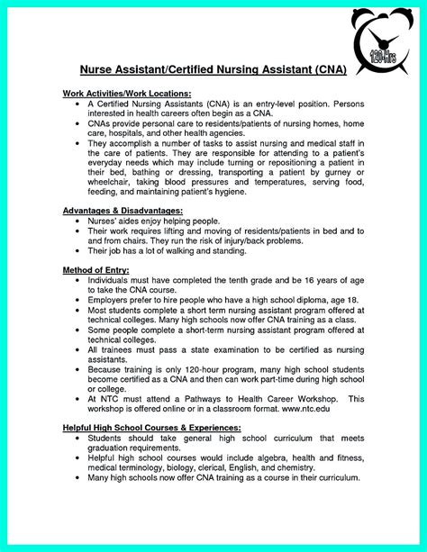 certified nursing assistant resume objective 3