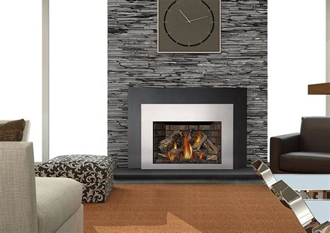Gas Fireplace Insert Manufacturers by Napoleon Infrared X4 Xir4 Gas Insert Fireplacepro