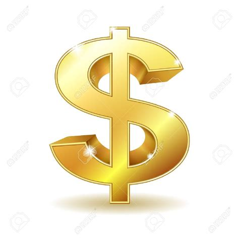 money sign clip gold dollar sign clipart clipground