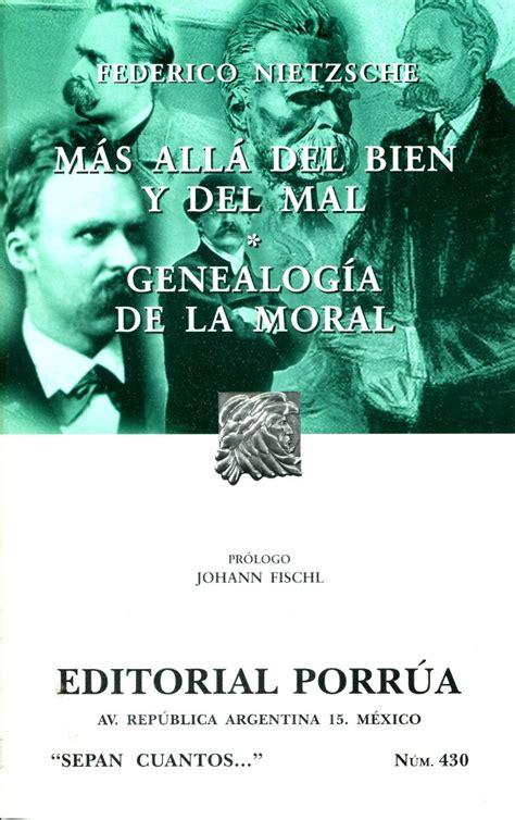 libro mas alla del bien mas alla del bien y del mal genealogia de la moral nietz 179 00 en mercado libre