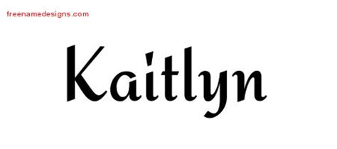 kaitlyn name tattoo ideas calligraphic stylish name tattoo designs kaitlyn download