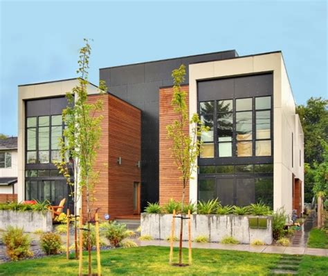 1100 Sq Ft House Plans by Luxury Makes This Modern Multi Unit Home In Seattle