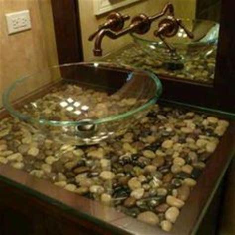 river rocks in bathroom sink 1000 images about master bathroom on bathroom