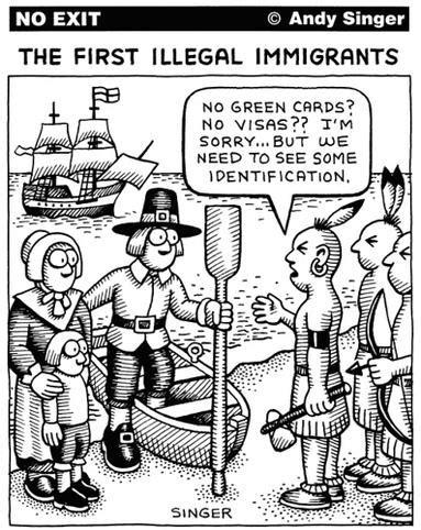 political cartoons on immigration immigration vs discrimination