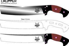 164 Best Knife Patterns Images Knife Patterns Knife Making Cold Steel Chopper Knife Template