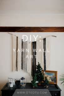 best 25 yarn wall hanging ideas on diy wall