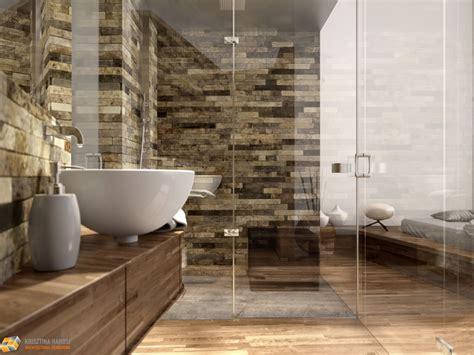 impressionante Altezza Mattonelle Bagno #1: rendering-Stanza-bagno-mosaico-in-travertino-pietre-di-rapolano-1024x768.jpg