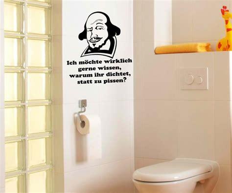 Wandtatoo Badezimmer by Toiletten Spruch Aufkleber Wandtattoo Badezimmer Wc Bad