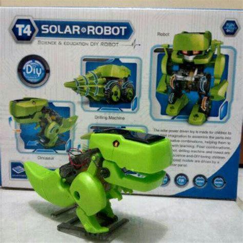 Mainan Anak Dino Valley Baterai robot dino 4 in 1 mainan edukasi anak robot dinosaurus 4