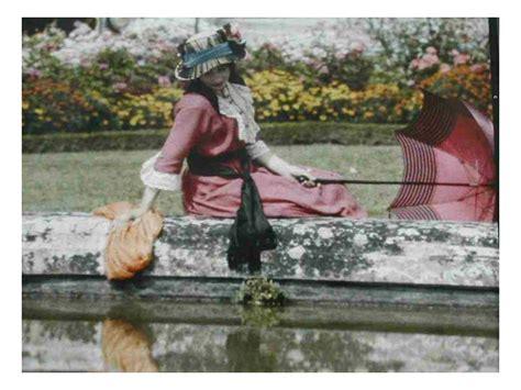 earliest color photos early color photos