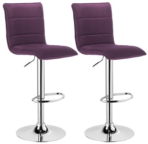 chrome and leather bar stools bar stools set of 2 faux leather kitchen breakfast stool