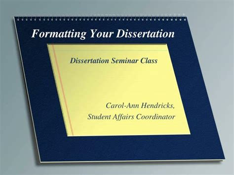 dissertation presentation exle ppt formatting your dissertation powerpoint presentation