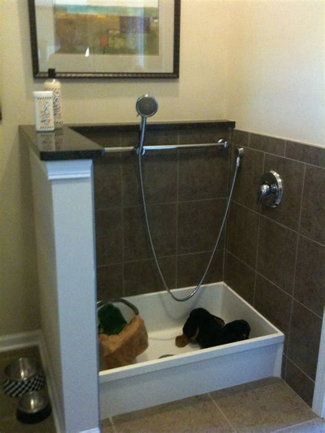 dog showers bathtubs dog wash wudu station ideas pinterest the old boots