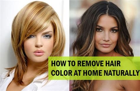 how to remove color from hair ways to remove hair colour femaleadda