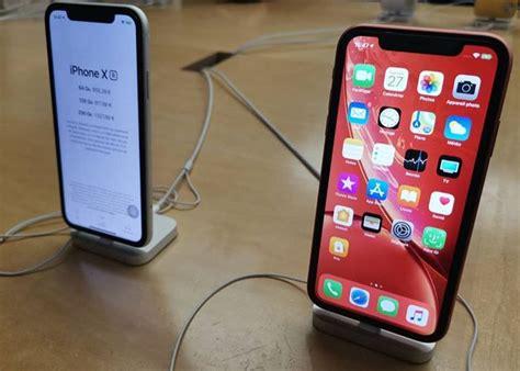 apple la vente d iphone xr en baisse par rapport 224 la pr 233 vision meilleur mobile