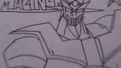 Mazinger Z Drawing by Mazinger Z Draw 1 Boceto X Db