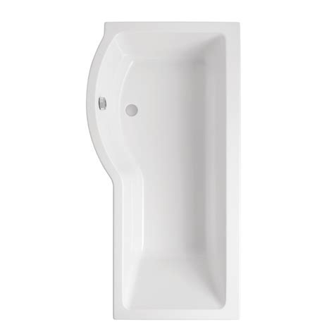 carron shower bath carron brio 1650 x 845mm showerbath 5mm acrylic lh one