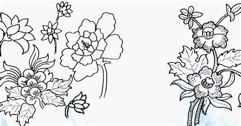 desain gambar tumbuhan guru batik blog membuat desain motif tumbuhan binatang