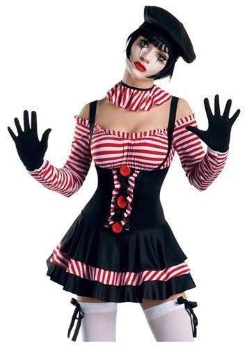 ladies mime fancy dress