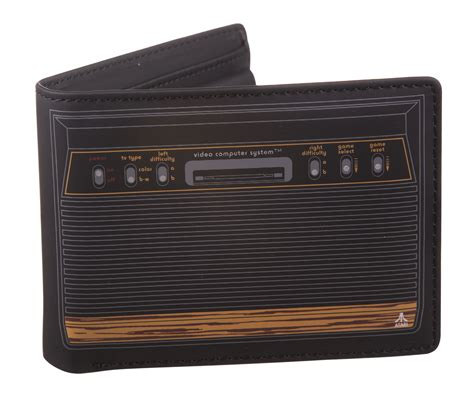 console atari atari 2600 console wallet