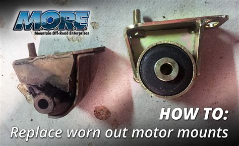 Jeep Xj Motor Mounts How To Replace Motor Mounts In A Jeep Xj Quadratec