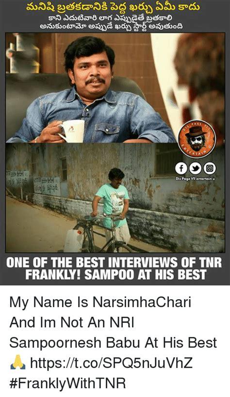 best dis dis pago vilentertainu one of the best interviews of tnr