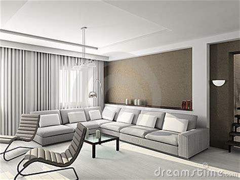 modern creative living room design rendering 3d house 3d render modern interior of living room stock photo