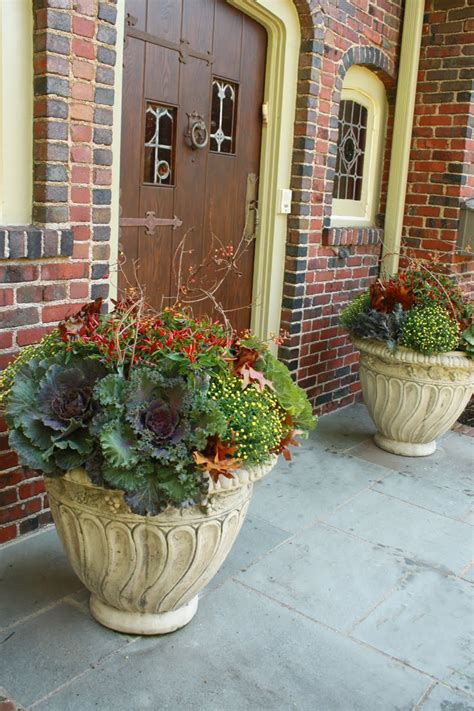 fall plants container gardening pinterest fall decorating ideas on pinterest