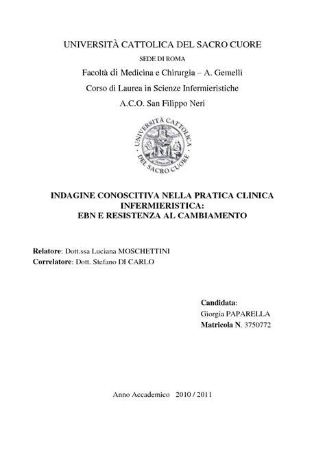 universit 192 cattolica sacro cuore sede di roma facolt 224