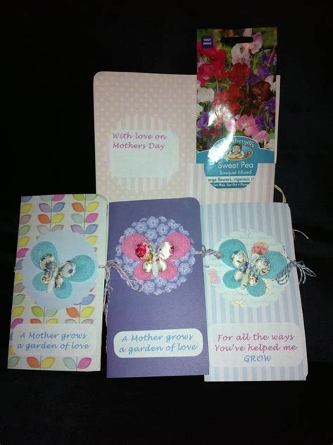 Packet Of World Com Gift Cards - mothers day seed packet gift card cards i love pinterest mothers mother s day