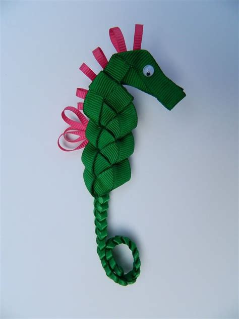how to make ribbon sculpture hair bows seahorse ribbon sculpture hair bow ribbon art hair clips