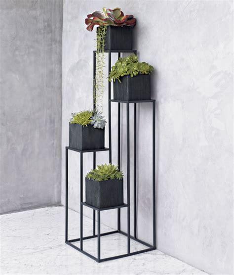 quadrant plant stand   planters  garden patio