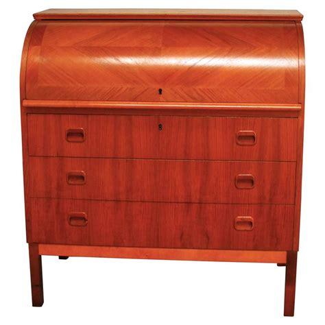Modern Roll Top Desk Mid Century Modern Cylinder Roll Top Desk For Sale At 1stdibs