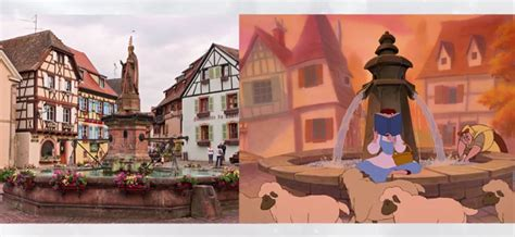 colmar france beauty and the beast 10 magical disney locations inspired by reality