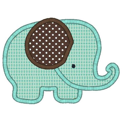 applique elephant applique for krista pinterest