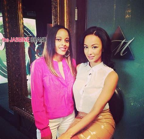 pronhub draya off of basketball wives of la ear hustlin draya michele films rumored spin off hosts