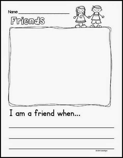 Kindergarten Activities On Friendship | mrs byrd s learning tree back to school fun and a